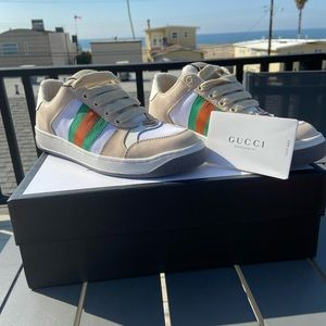 Gucci Women's Screener Sneakers. 37 for a 6.5 US.